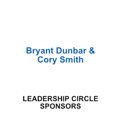 Bryant Dunbar & Cory Smith, Leadership Circle Sponsors