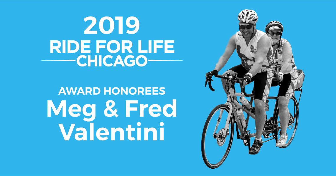 Ride for Life Award Honorees Meg & Fred Valentini