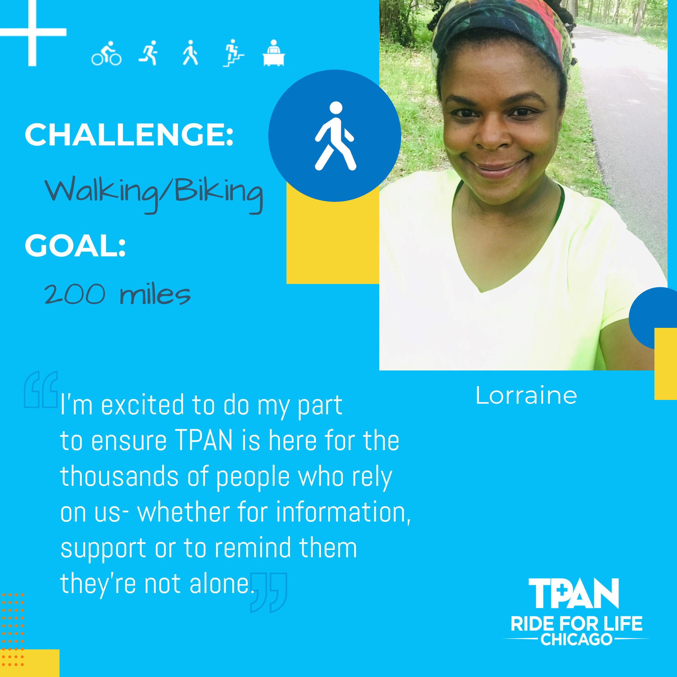 Participant Profile - 10,000 Together - Lorraine