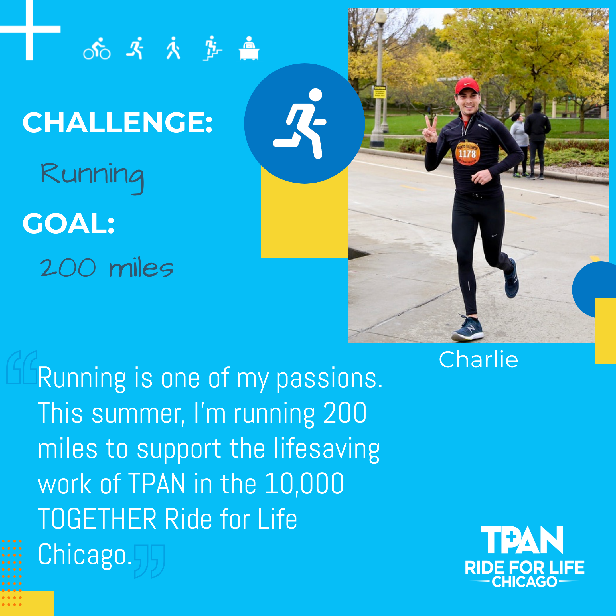 Participant Profile - 10,000 Together - Charlie