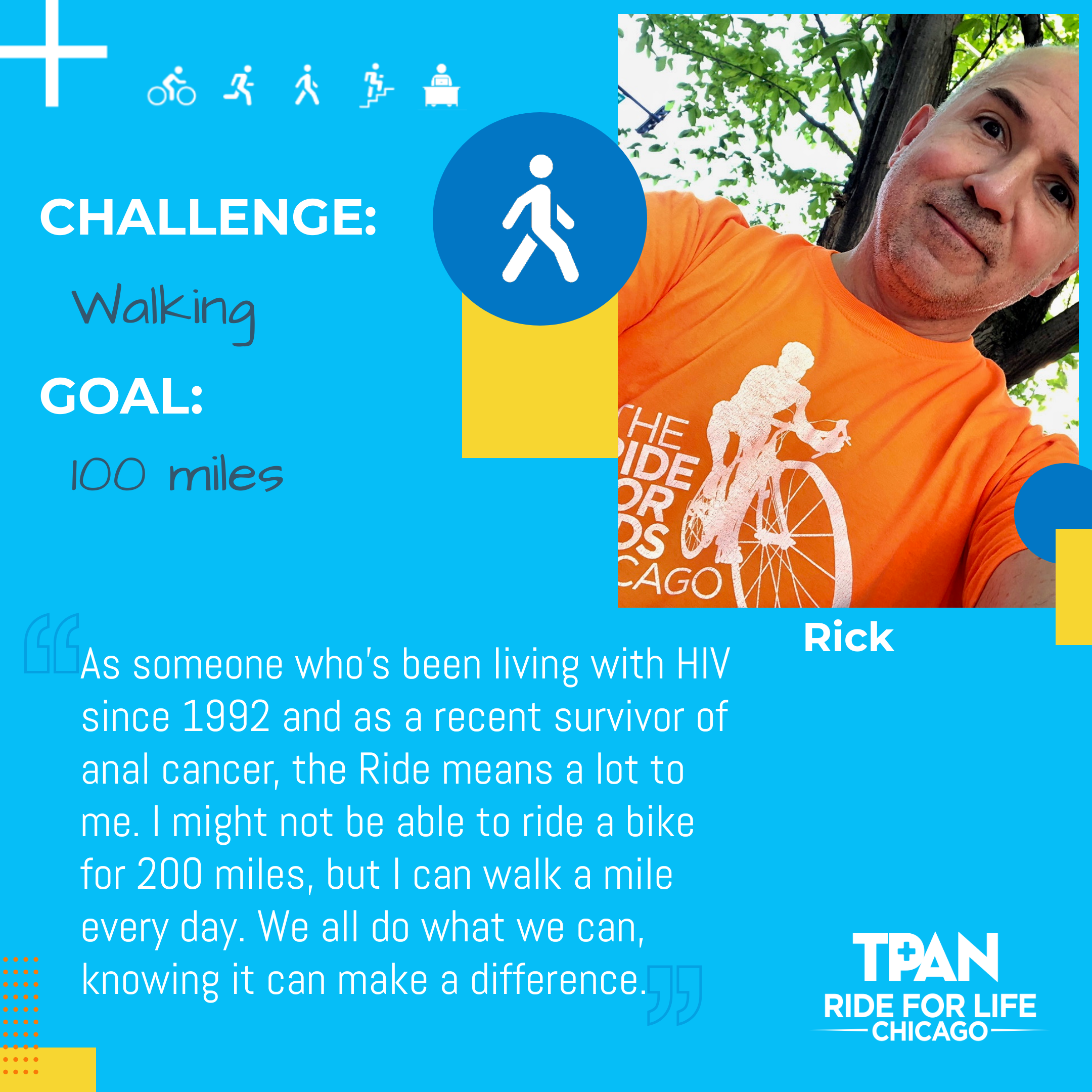 Participant Profile - 10,000 Together - Rick